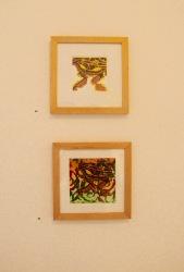 Bernadette Boscacci, Bees knees and gangila (Above) and Sensory flower lode (Below)