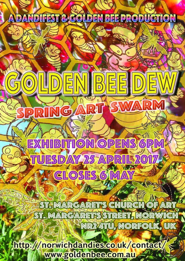golden bee dew poster draft3